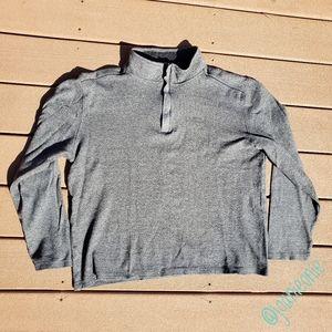 * CALVIN KLEIN Half Zip Pullover Grey Size L